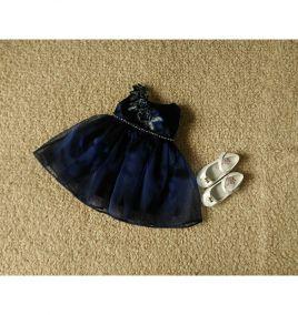 Đầm xòe công chúa cho bé gái size đai 5-8