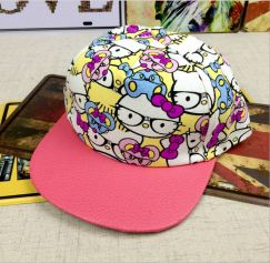 Nón Snapback Hello Kitty