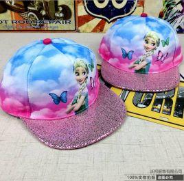 Nón Snapback Elsa cho bé gái