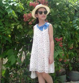 Đầm suông cho bé gái