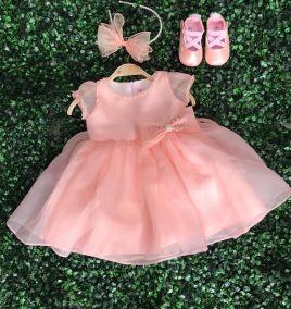 Đầm xòe công chúa cho bé gái ( size lớn 5-8 )
