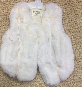 Áo khoác sát nách lông giữ ấm cho bé