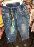 Quần jean lửng dành cho bé gái