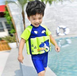 Đồ bơi bé trai có phao kèm nón