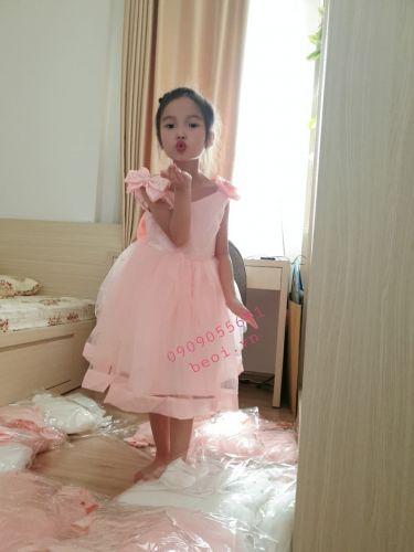 Đầm xòe công chúa cho bé gái ( size 1-4)