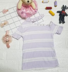 Áo thun kiểu cho bé gái
