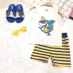 Bộ Yoyo sát nách Baby Shark cho bé trai