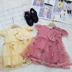 Đầm ren hoa nhí