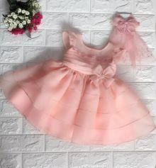 Đầm xòe công chúa cho bé gái (size nhỏ)