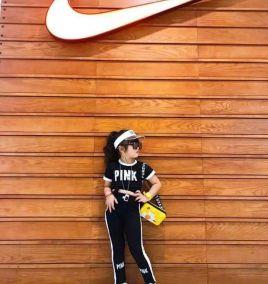Độ bộ thể thao bé gái( trung)
