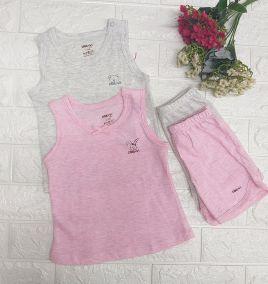 Bộ ba lỗ thun cotton thương hiệu DOKMA