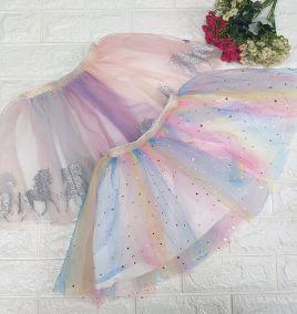 chân váy xòe _ chân váy tutu nhiều màu cho bé