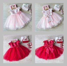 Đầm công chúa cho bé hàng thiết kế dáng xòe