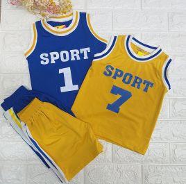 Bộ SPORT thể thao 3 lỗ bé trai