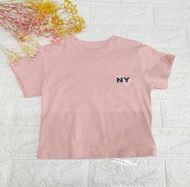 Áo thun bé gái in chữ NY