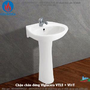 Chậu chân đứng Viglacera VTL2 + VI1T
