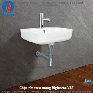 Chậu rửa treo tường Viglacera V23
