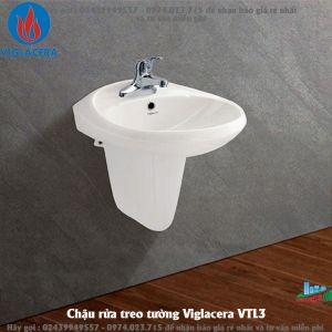 Chậu rửa treo tường Viglacera VTL3