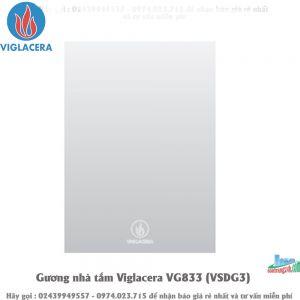Gương nhà tắm Viglacera VG833 (VSDG3)