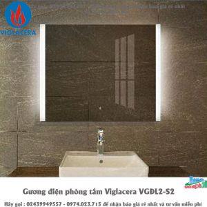 Gương điện phòng tắm Viglacera VGDL2-S2