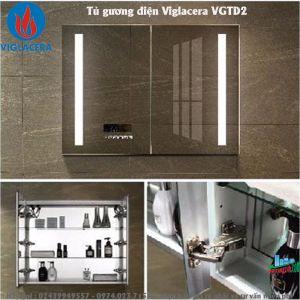 Tủ gương điện Viglacera VGTD2