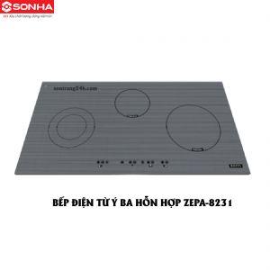 BẾP ĐIỆN TỪ Ý BA HỖN HỢP ZEPA-8231
