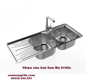 Chậu rửa bát inox Sơn Hà S100s