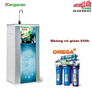 Máy lọc nước Kangaroo 9 cấp độ lọc OMEGA+ KG02G4 (Vỏ hoa Hàn Quốc)