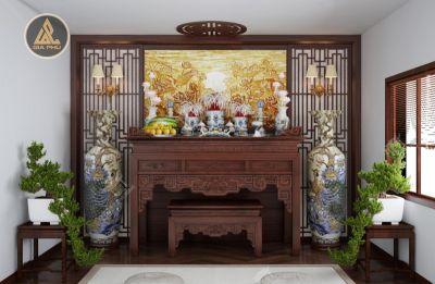 Những dạng phòng thờ phổ biến trong ngôi nhà của người Việt