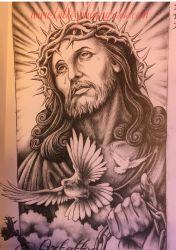 hinh xam chua jesus 34