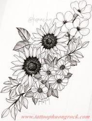 hinh xam hoa tia 25