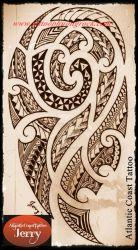 Hinh xam Maori 12