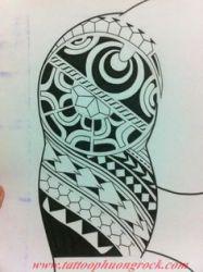 Hinh xam Maori 3