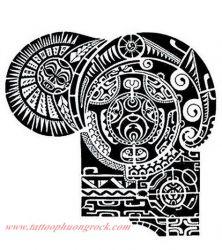 Hinh xam Maori 17