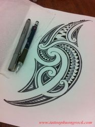 Hinh xam Maori 4