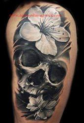 Hinh xam skull 31