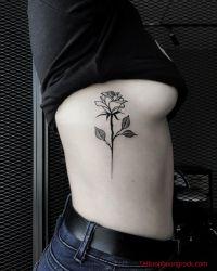 Hinh xam hoa hong 24