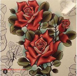 Hinh xam hoa hong 21