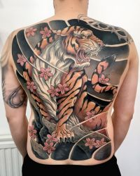 tiger tattoo 2