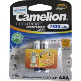 Pin Sạc Camelion AAA 1.2V 1100 mAh