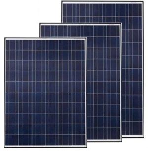 Tấm pin năng lượng mặt trời 345W poly