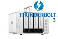 DAS TerraMaster D4-Thunderbolt 3, 4 khay ổ cứng, 64TB, 40Gbps, 780MB/s