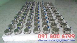 Đồng hồ áp suất chân không mặt 63mm G1/2″, NPT 1/2″, G1/4″, NPT 1/4″, M20, M27