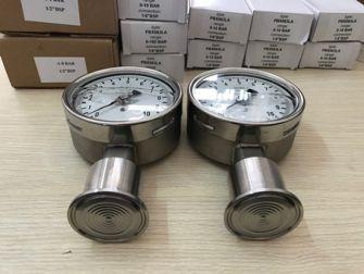 Đồng hồ áp suất dạng màng mặt 63mm, 100mm, 160mm, 250mm