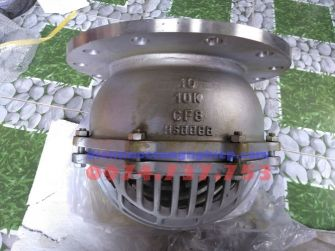 Van rọ bơm Inox DN250 lắp bích