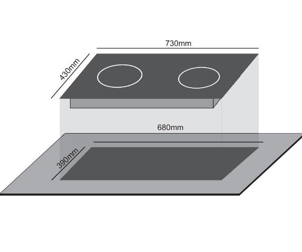 bo mạnh điều khiển của Italia trên bếp 1 từ 1 hồng ngoại CivinA CV-676