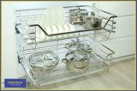 Công dụng của phụ kiện trong tủ bếp hiện đại