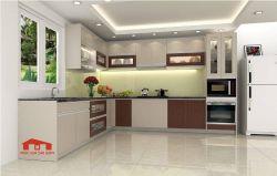 Tủ bếp MFC chống ẩm cao cấp Chữ L-1