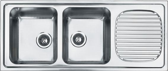 Chậu rửa Fagor   2MAX-2C-1E