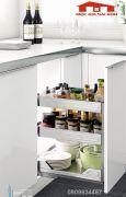 Kệ gia vị tủ bếp dưới inox 304 - 306004